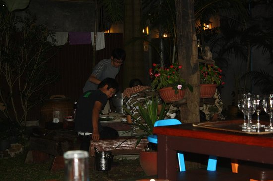 Baan Nattawadee : Dining area
