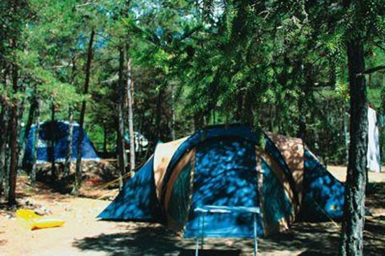 Camping Rioclar : Tent pitch