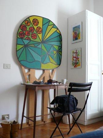 Aurelio Aquilone B&B: 房間的擺設很獨特