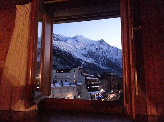 Hôtel Le Chamonix: chambre triple