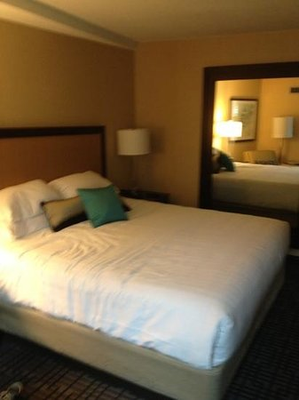 Hyatt Regency Washington on Capitol Hill: king size bed