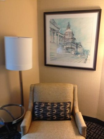 Hyatt Regency Washington on Capitol Hill: DC-themed art