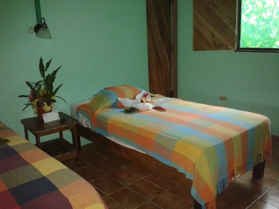 Atlantida Lodge: standard room, 2 single beds