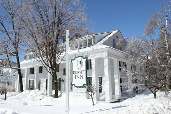 The Dorset Inn: Winter Route 30 view