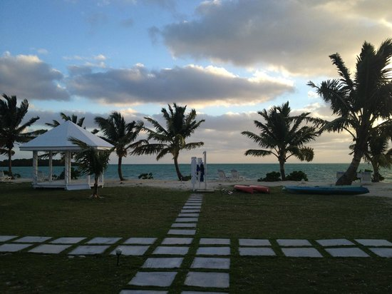 Swain's Cay Lodge : Great View