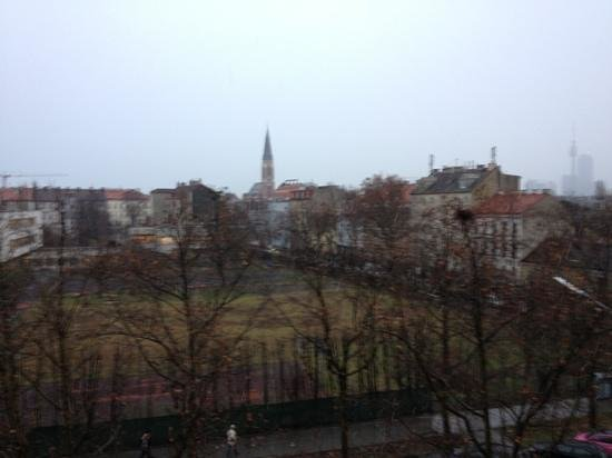 FourSide Hotel & Suites Vienna: the view from our room
