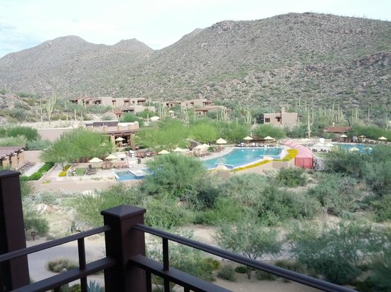 The Ritz-Carlton, Dove Mountain: View from suite