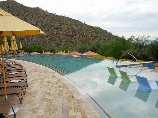 The Ritz-Carlton, Dove Mountain: Pool area