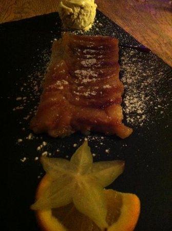 La Scierie : tarte aux pommes fines
