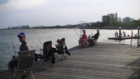 Tripcony Quays: Fishing off the private jetty