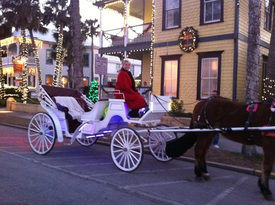 Bayfront Westcott House Bed & Breakfast : Sunset Carriage Ride