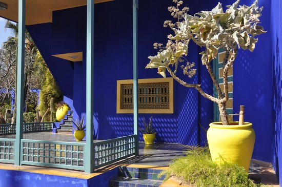 Yves saint laurent house foto van jardin majorelle marrakesh tripadvisor - Yves saint laurent jardin majorelle ...