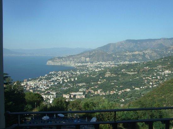 Grand Hotel Hermitage & Villa Romita: Spectacular view