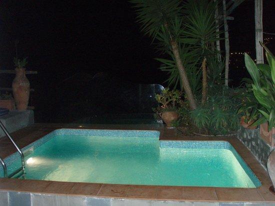 Villa Fiorentino: Plunge pool in Honeymoon Suite