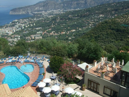 Grand Hotel Hermitage & Villa Romita: View from top floor