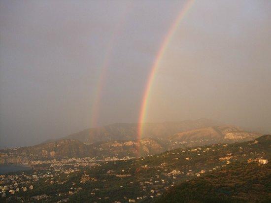 Grand Hotel Hermitage & Villa Romita: Rainbow