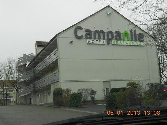 Campanile Voisins Le Bretonneux : L'hôtel