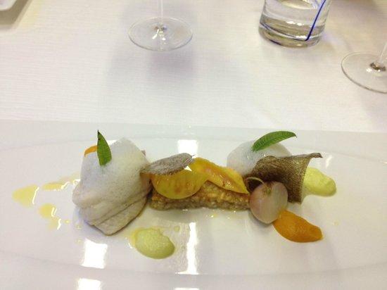 Terme Manzi Hotel & Spa: Fish entree