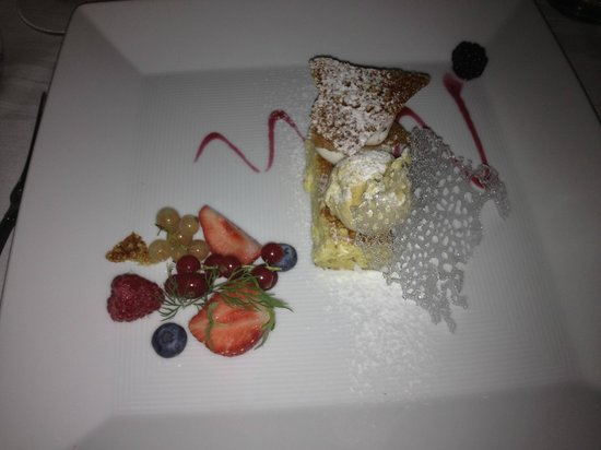 Terme Manzi Hotel & Spa: Another dessert course