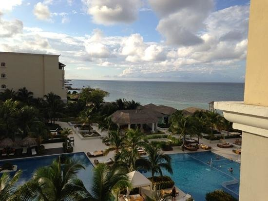 Iberostar Grand Hotel Rose Hall: View from an oceanview room