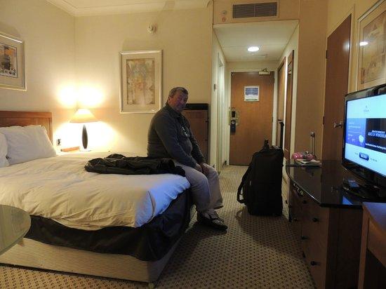Hilton London Gatwick south terminal: interieur de la chambre