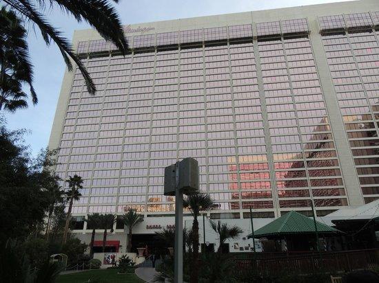 โรงแรมฟลามิงโกแอนด์คาสิโน: vue depuis les jardins