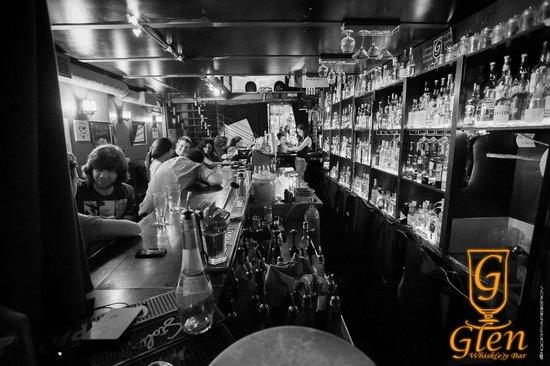 Glen Whisk(e)y Bar: B&W