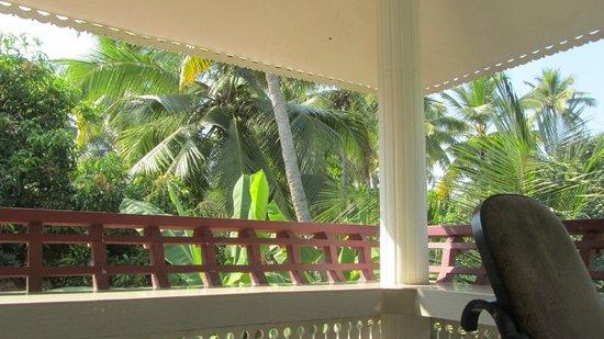Palakal Residency: Blick ins Grüne