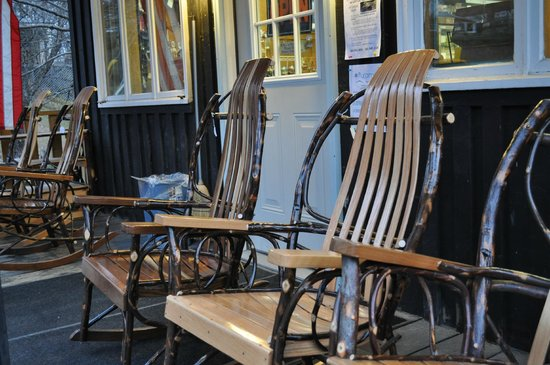 Green Mountain Sugar House: Rustic Rocking Chairs for Sale