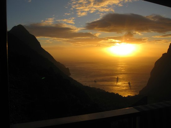 Ladera Resort: Sunset from room