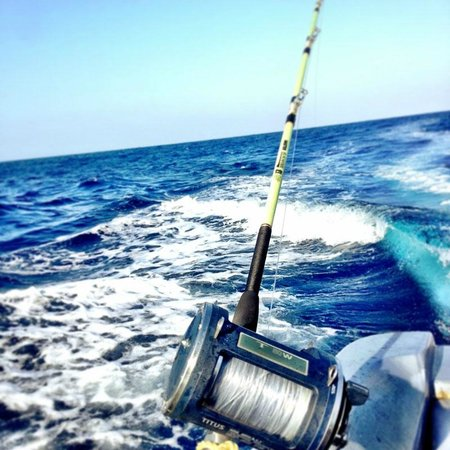 Richie's on the Beach: Trolling for barracuda