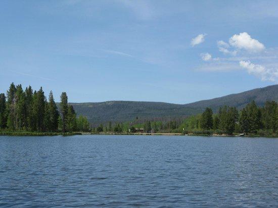 Moose Lake Lodge, LLC : view of Sun Valley Lake