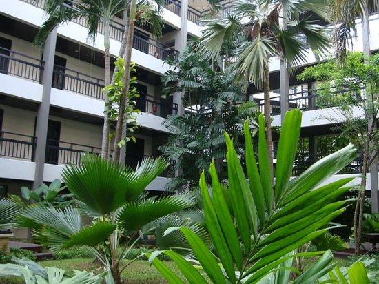 サイアム ベイショアー リゾート & スパ パタヤ, 中庭