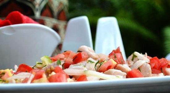 Taste Restaurant at Casa Cupula: Ceviche de pescado