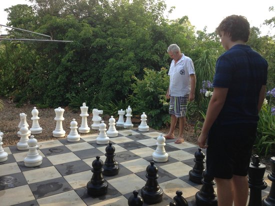 Mapleton Falls Accommodation: Game of chess anyone