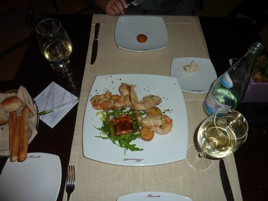 Courtyard by Marriott Rome Central Park: Dinner