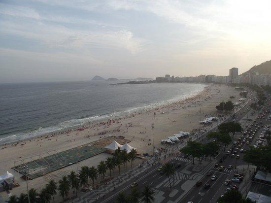 Windsor Excelsior Hotel: Vista Copacabana
