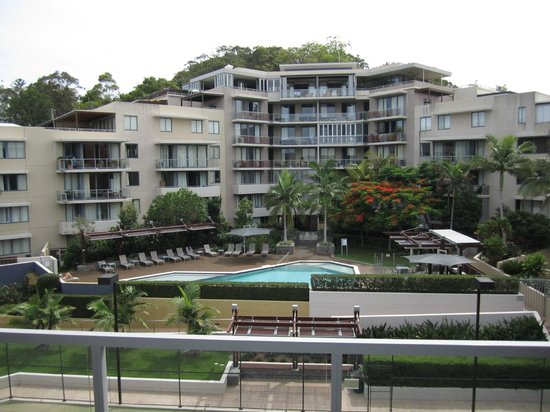 Swell Resort Burleigh Beach: View from our balcony