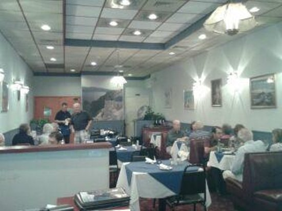 The Greek Taverna: Filled up with Greeks!