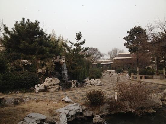 Jinling Resort Nanjing : garden inside THE hotel