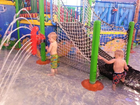 Coco Key Water Resort at Courtyard by Marriott Fitchburg: Kiddie area