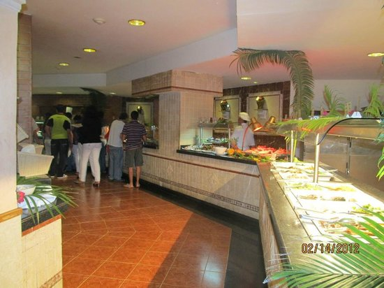 Melia Varadero: Restaurante buffet