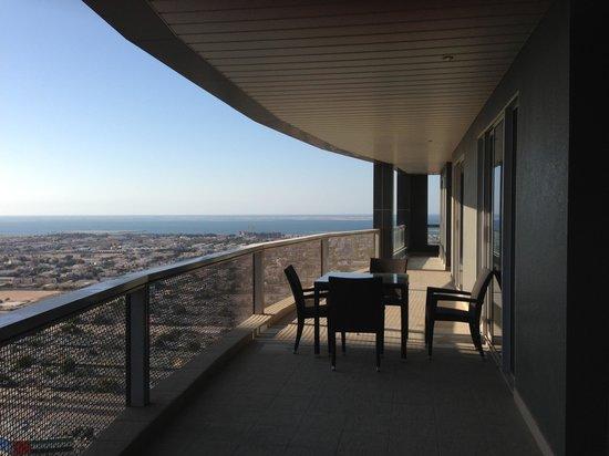 سيتي بريميير للشقق الفندقية: Amazing balcony 