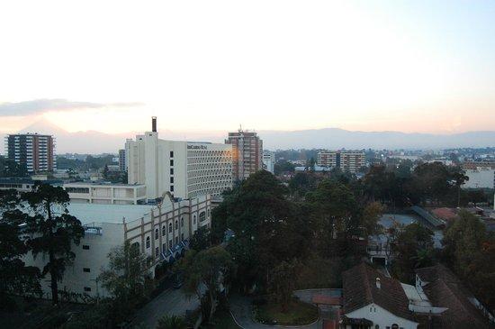 Real InterContinental Guatemala: vue depuis la chambre