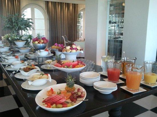 The Marine Hermanus: cafe da manhã delicioso e na medida certa !!!