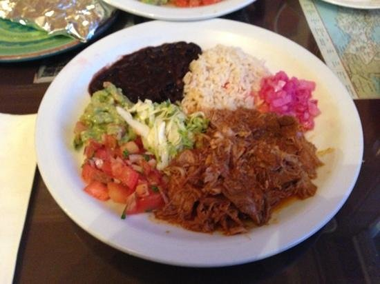 Cafe Capistrano: cochinita in pabil