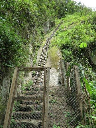 Putucusi Mountain: The first ladder
