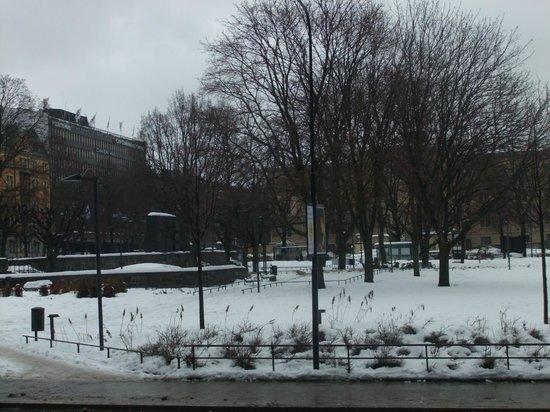 คลาเรียนโฮเต็ล ไซน์: view from the steps outside the hotel