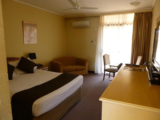BEST WESTERN Alexander Motel Whyalla: First impressions of the room - better first impression than reception