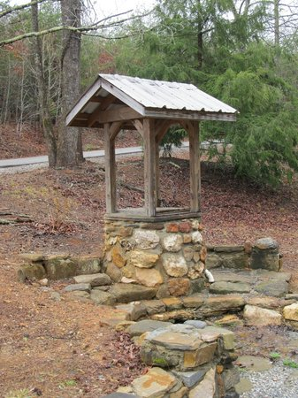 Campbell's Covered Bridge: An old well
